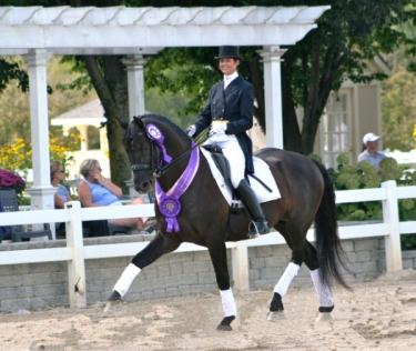 Develpoing Horse Championships Lamplight 2009